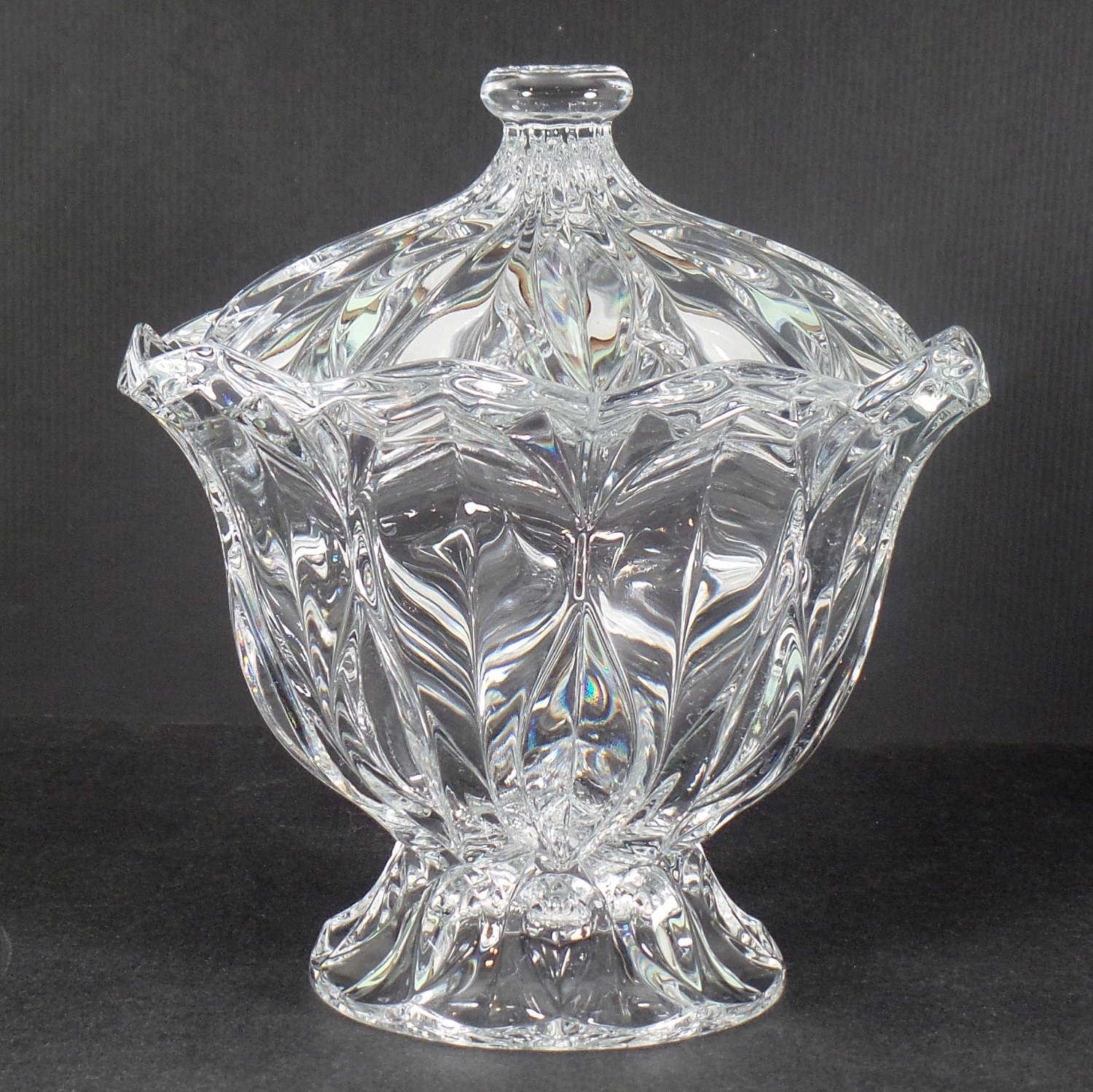 Mikasa Blossom Candy Dish with Lid - Giftware
