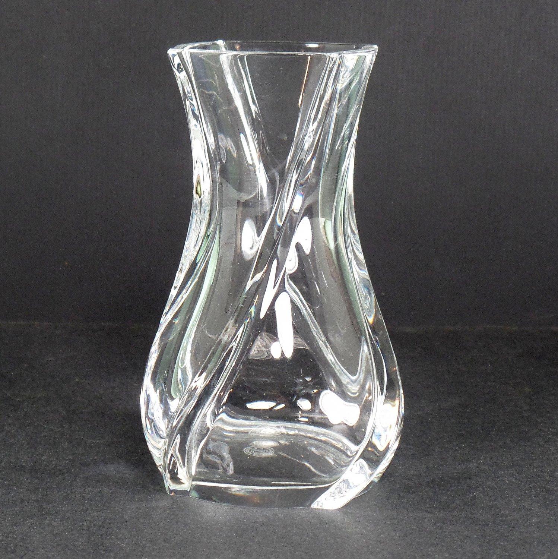 Baccarat Serpentin Flower Vase 5 in