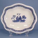 Johnson Brothers Willow Blue (England 1883) Bowl-Scalloped 11 Inch