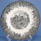 Wedgwood Romantic England - Black Dinner Plate