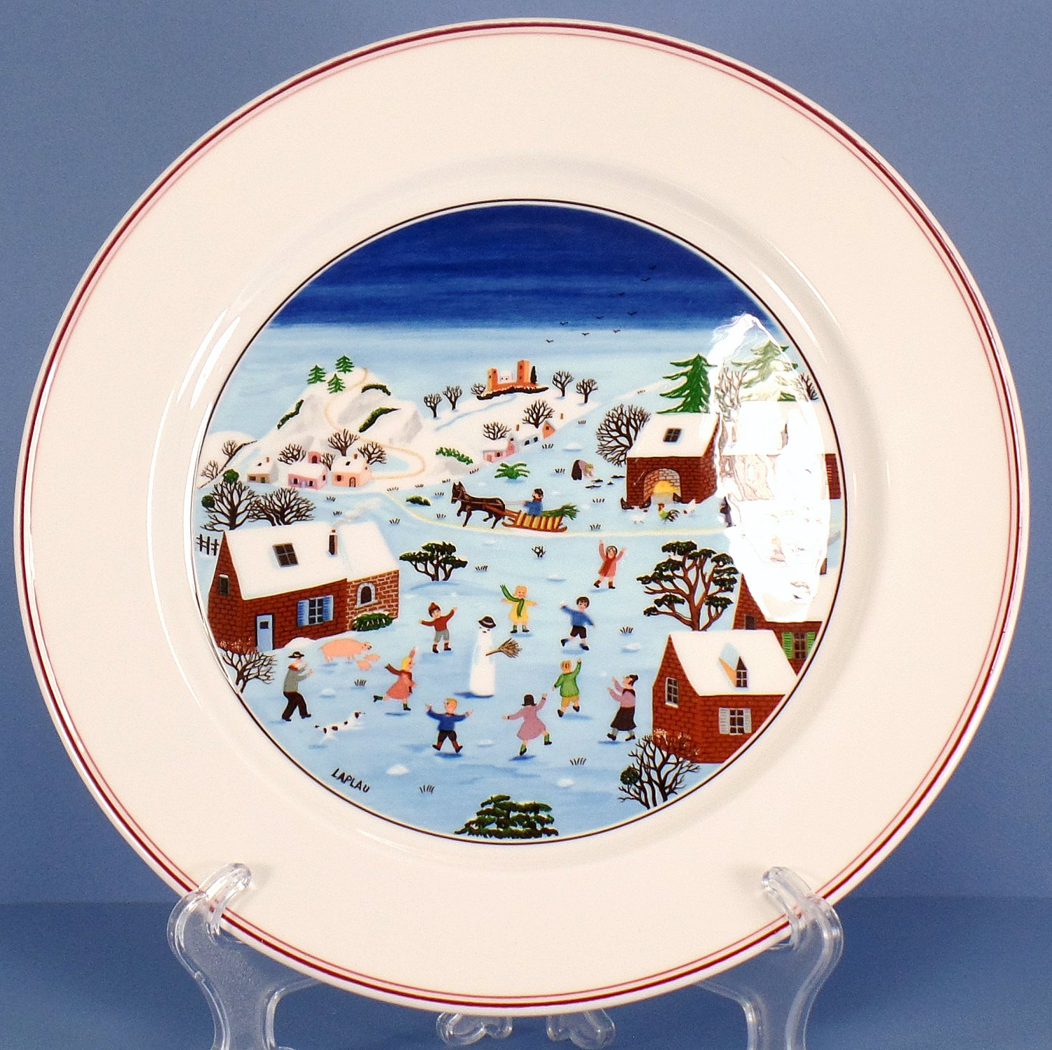Villeroy boch naif christmas dinner plate for Villeroy boch christmas