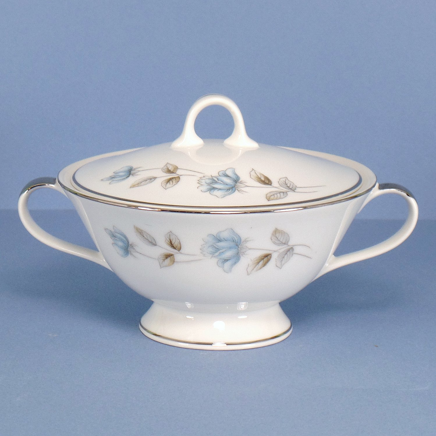 International Elegant Lady Sugar Bowl & Lid