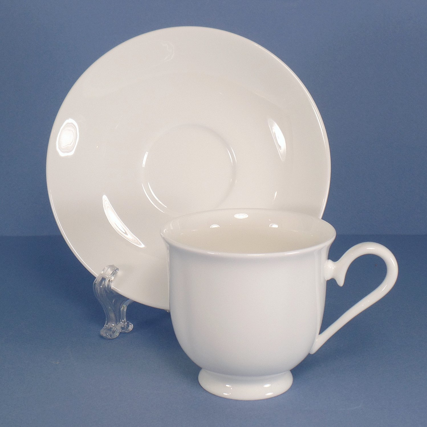 Lenox Grace Footed Cup & Saucer Set