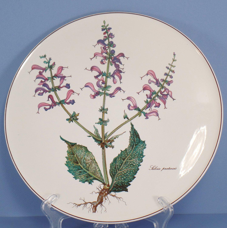 Villeroy & Boch Botanica Cake Plate - Salvia Pratensis