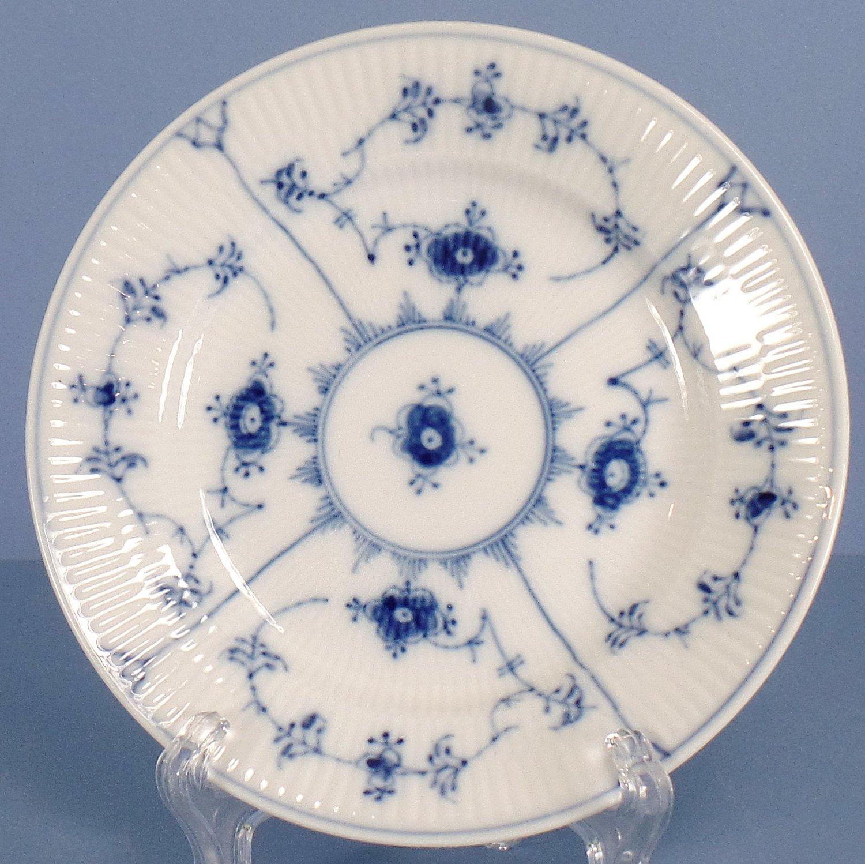 Royal Copenhagen Blue Fluted Plain Bread & Butter Plate No. 181