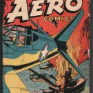 CAPTAIN AERO COMICS VOl.#4, NUMBER 3 (#17) OCT. 1944 UNRESTORED VG
