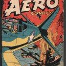 CAPTAIN AERO COMICS VOl.#4, NUMBER 3 (#17) OCT. 1944 UNRESTORED VG