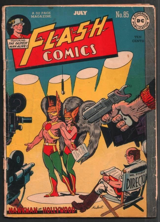 FLASH COMICS #85 JULY 1947 DC COMICS RARE