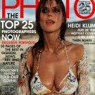 HEIDI KLUM AMERICAN PHOTO 25TH ANNIVERSARY ISSUE MAY/JUNE 2003
