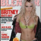 BRITNEY SPEARS BLENDER MAGAZINE JANUARY/FEBRUARY 2004 RARE