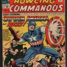 SGT. FURY AND HIS HOWLING COMMANDOS WITH CAPTAIN AMERICA & BUCKY #13 12/64 VG