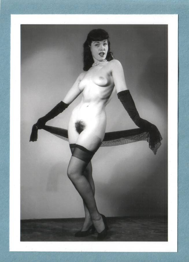 Message removed betty bettie page bush