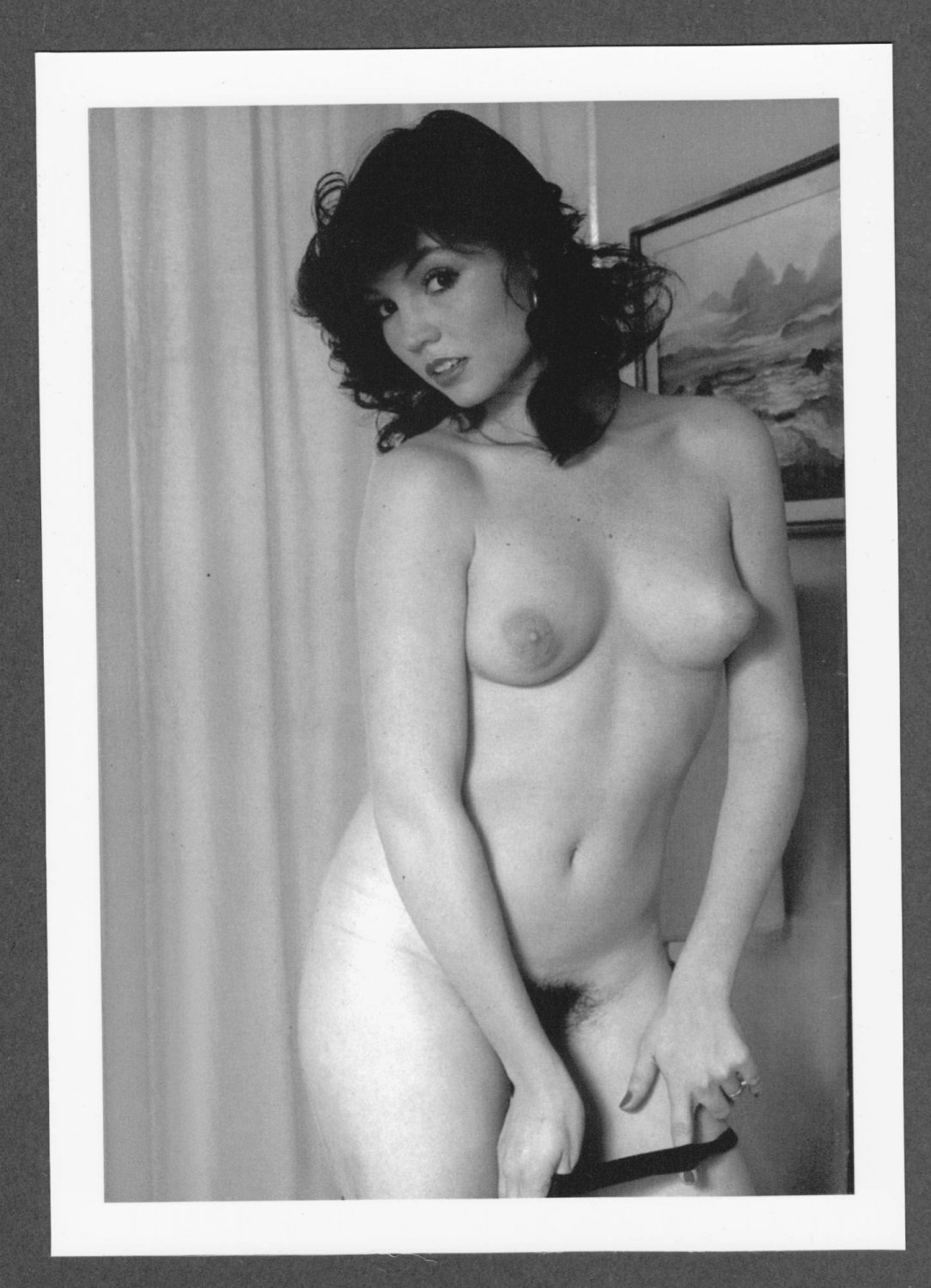 ADULT FILM ACTRESS KANDI BARBOUR TOPLESS BREASTS HAIRY PUSSY NEW REPRINT 5X7 #3