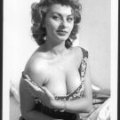 ACTRESS SOPHIA LOREN BUSTY BOSOMY DEEP CLEAVAGE NEW REPRINT  5X7  SL-2