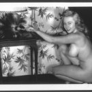 ACTRESS JOAN BLONDELL TOPLESS NUDE NEW REPRINT  5X7    JB-6