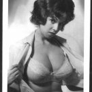 JULIE WILLS/WILLIAMS BUSTY BOSOMY BRA POSE NEW REPRINT  5X7  JW-15