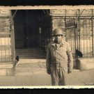 "VINTAGE ORIGINAL PHOTO BLACK AMERICAN ARMY SOLDIER WORLD WAR 2 FRANCE 3 3/8"" X 5"" RARE"