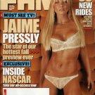 FHM MAGAZINE JAIME PRESSLY OCTOBER 2005