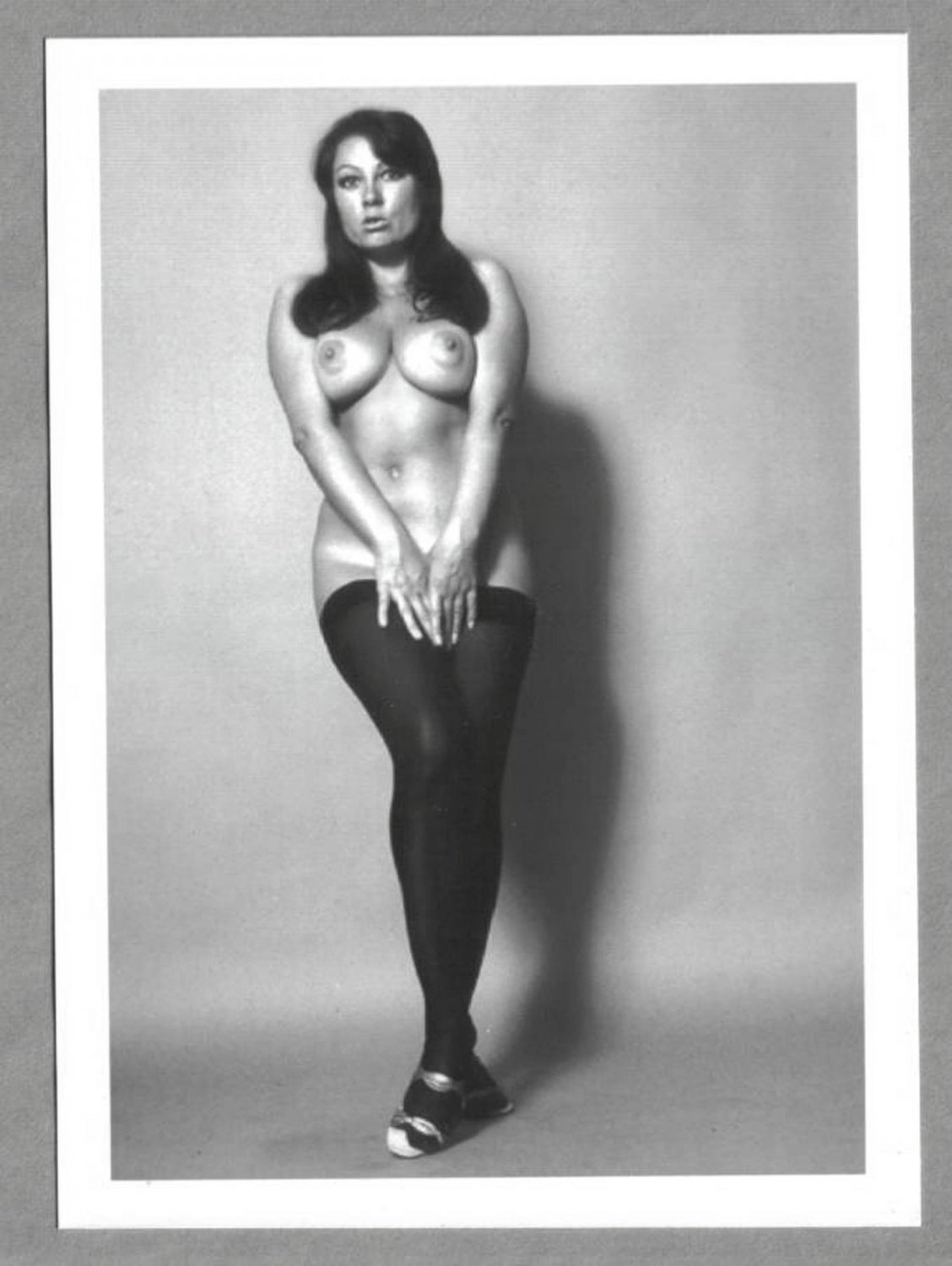 JUNE PALMER TOPLESS NUDE NEW REPRINT PHOTO 5X7 #185