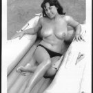 JUNE PALMER TOPLESS NUDE NEW REPRINT PHOTO 5X7 #371