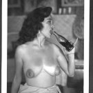 BONNIE LOGAN TOPLESS NUDE HUGE BREASTS NEW REPRINT 5 X 7 #59
