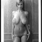 BLONDE MODEL TOPLESS NUDE HUGE BREASTS NEW REPRINT PHOTO 5X7 #486