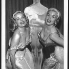 ACTRESSES JAYNE MANSFIELD & CLEO MOORE BOSOMY BUSTY NEW REPRINT  5X7 #1