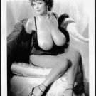 DIANA POPPOS TOPLESS NUDE HUGE BREASTS NEW REPRINT PHOTO 5X7   #1