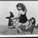 VINTAGE ORIGINAL FETISH MODELS BONDAGE POSE 4X5 1960'S #RS136A-02