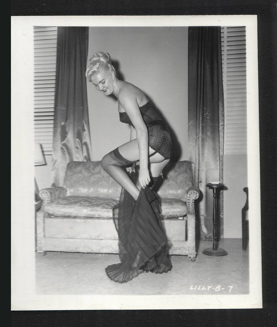 MODEL LILLY B. VINTAGE  IRVING KLAW PHOTO 4X5 #7