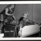 2 BLONDE FETISH BONDAGE MODELS VINTAGE ORIGINAL IRVING KLAW PHOTO 4X5 #COL 28