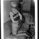 BLONDE FETISH BONDAGE MODEL VINTAGE ORIGINAL IRVING KLAW PHOTO 4X5  #COL-166