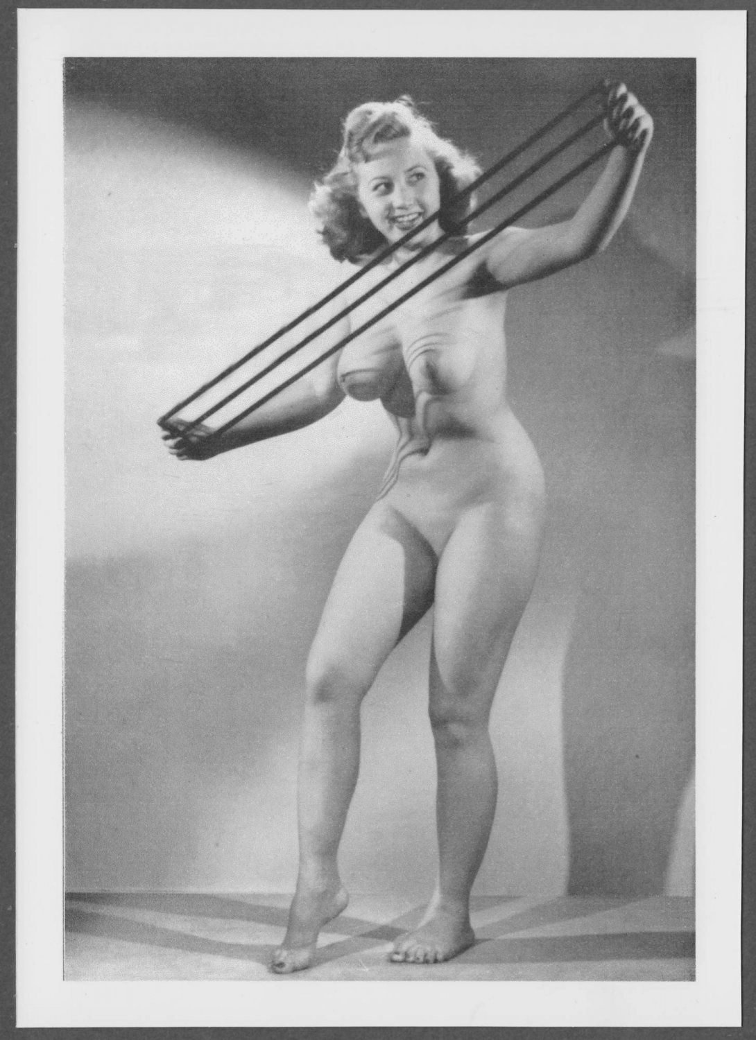 DAGMAR TOTALLY NUDE NEW REPRINT  5X7    #20