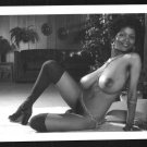 EBONY SYLVIA MCFARLAND TOPLESS NUDE HUGE BREASTS HAIRY PUSSY NEW REPRINT 5X7 SM-25