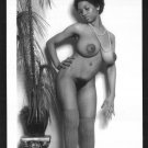 EBONY SYLVIA MCFARLAND TOPLESS NUDE HUGE BREASTS HAIRY PUSSY NEW REPRINT 5X7 SM-87