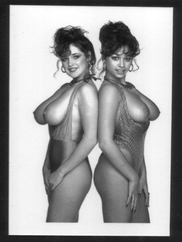 MARIA WHITTAKER & PAL TOPLESS HUGE NUDE BREASTS NEW REPRINT 5X7  #3