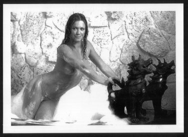 ADULT FILM ACTRESS MARILYN CHAMBERS TOTALLY NUDE NEW REPRINT 5X7  #12