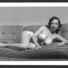 MARGE MELLOR TOPLESS HUGE NUDE BREASTS NEW REPRINT 5X7  #21