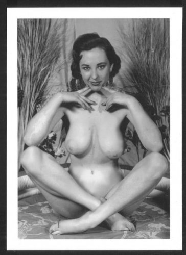 MARGE MELLOR TOPLESS HUGE NUDE BREASTS NEW REPRINT 5X7  #25