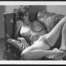 LISA DELEEUW TOPLESS NUDE REPRINT PHOTO 5X7 LD47