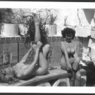 DONNA BROWN & BLONDE TOTALLY NUDE HUGE BREASTS  REPRINT PHOTO 5X7  DB-80