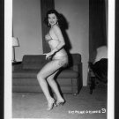 STRIPPER DORIAN DENNIS BUSTY BOSOMY POSE NEW REPRINT 5 X 7 #9