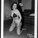 STRIPPER DORIAN DENNIS BUSTY BOSOMY POSE NEW REPRINT 5 X 7 #21
