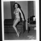 STRIPPER DORIAN DENNIS BUSTY BOSOMY POSE NEW REPRINT 5 X 7 #24