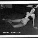 STRIPPER DORIAN DENNIS BUSTY BOSOMY POSE NEW REPRINT 5 X 7 #38