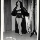 STRIPPER DORIAN DENNIS BUSTY BOSOMY POSE NEW REPRINT 5 X 7 #124