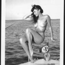 BETTY PAGE TOPLESS NUDE BREASTS NEW REPRINT 5X7  #621