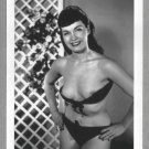BETTY PAGE TOTALLY NUDE BREASTS NEW REPRINT 5X7  #569
