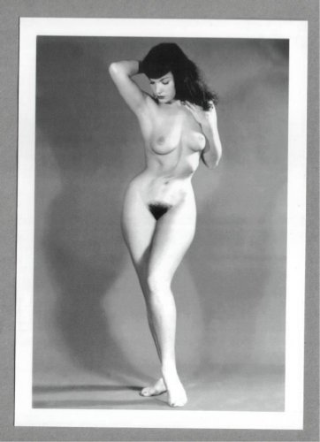 BETTY PAGE TOTALLY NUDE BREASTS NEW REPRINT 5X7  #560