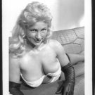 VIRGINIA BELL BUSTY BOSOMY BRA POSE NEW REPRINT 5 X 7 #45